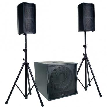 Акустичекский комплект American Audio TRI PACK II System 2